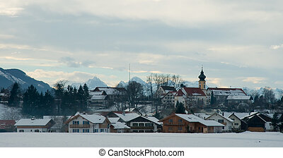 Bavarian Village - Quaint Bavarian village in the midst of...