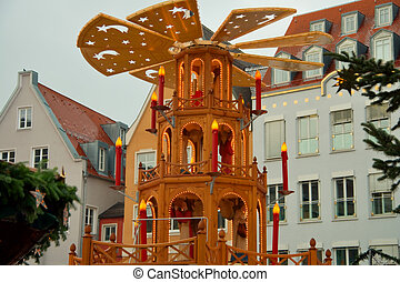 Bavarian Christmas Festival - Start of a Christmas festival...
