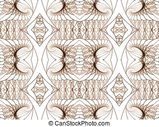 Decorative Weave Abstract