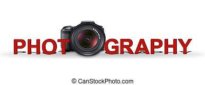 fotografování, prapor