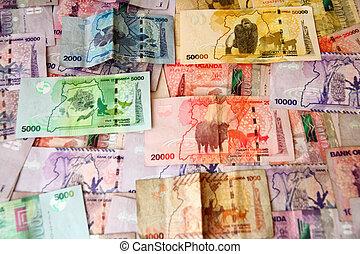 Ugandan Money - The colorful and creative money of Uganda