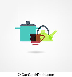 crockery icon