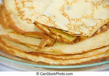 pancake - fresh hot pancake