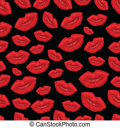Lip seamless background