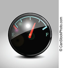 Fuel indicator icon - Fire extinguisher
