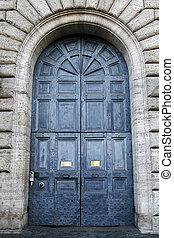 massive ancient door