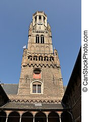 Bell tower at Bruges