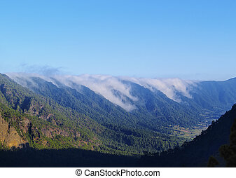 Sea of Clouds on La Palma - Mar de Nubes - Sea of Clouds -...
