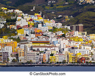 Santa Cruz de La Palma - Santa Cruz - view from the open...