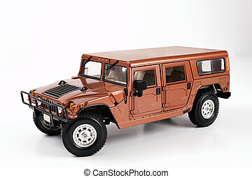 hummer - This is a picture isolated background on the jeep