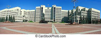palacio, gobierno, Minsk