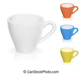 coffee cup - Coffee cup vector illustration. EPS10.