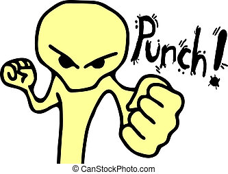 Punch puppet - Creative design of punch puppet
