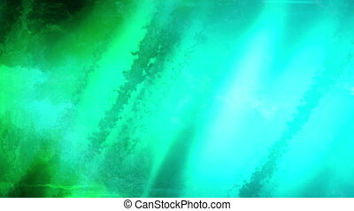 Blue Green Looping Abstract R221 Animated Background