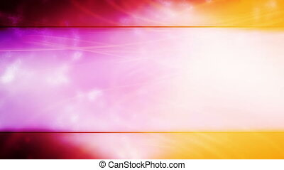 Tricolor Framed Looping Abstract Animated Background