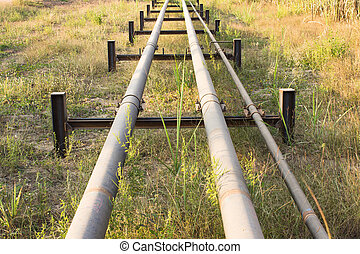 Oil pipe line