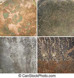 Metal textures - Aged metal textures