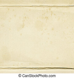 Aged paper texture, background