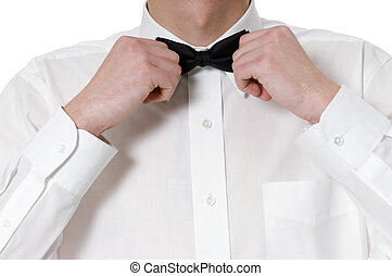 bow-tie - man founds bow-tie
