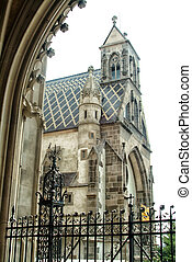 Cathedral exterior - The gothic cathedral, beautiful...