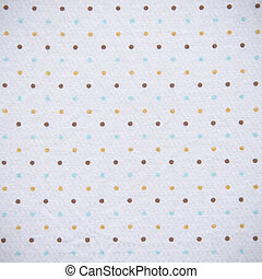 Colorful Dots Fabric Texture
