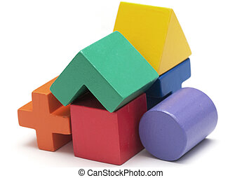 Toy blocks - childrens Toy blocks