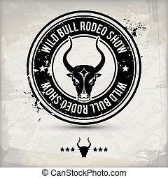 alternative bull stamp - alternative black bull label /...