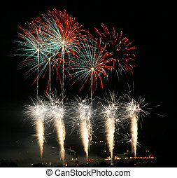 Fireworks party - fireworks for parties like wedding, new...