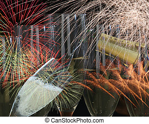 Fireworks party - Drinks and fireworks for parties like...