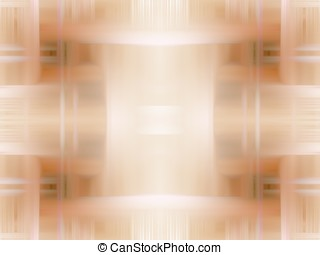Digital Abstract Background - Lightly woven - Light brown...