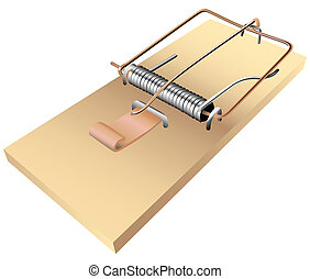Mousetrap - The standard mousetrap to kill small rodents....