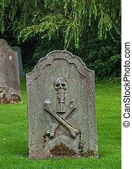 老, 墳墓, 石頭