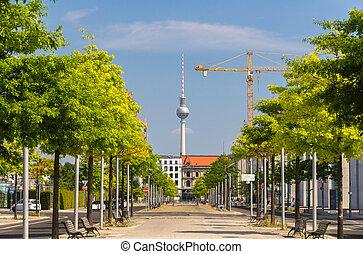 Otto-von-Bismarck-Allee - Berlin, Germany