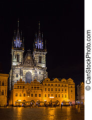 Church of Our Lady before Tyn in Prague - Czech Republic