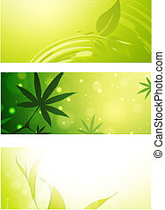 Green Eco Banner Collection