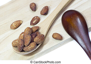 Almond spoon to delicious
