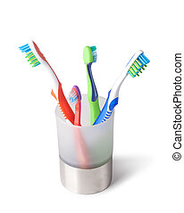 toothbrush isolated on a white background