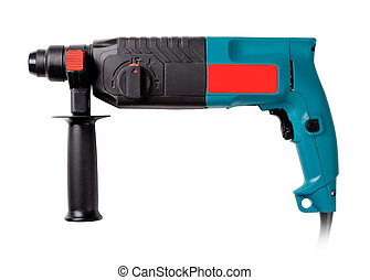 industrial perforator on a white background