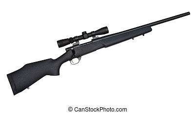 Precision rifle - Rifle that is chambered in a cartridge for...