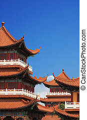 chinese temple building