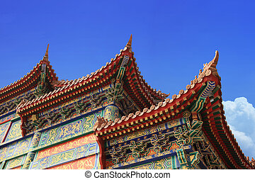 upturned eaves - traditional chinese architecture,upturned...
