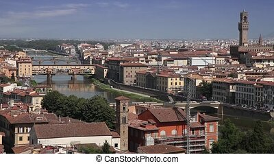 Florence skyline, Italy - Florence cityscape from...