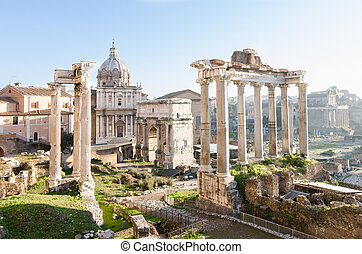 The Imperial Forum. Rome. Italy