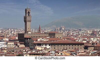 Florence cityscape, Italy - Florence cityscape from...
