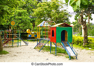 Playground ,children Stairs Slides equipment