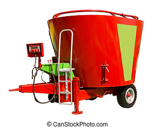 Mixer-wagon - A mixer-wagon, or diet feeder, is a specialist...