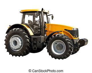 ferme, tracteur