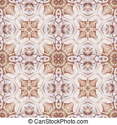 Intricate Pattern Abstract - Intricate, threaded pattern -...