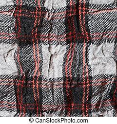 Crumpled cloth texture