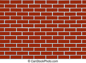 red brick wall for background.